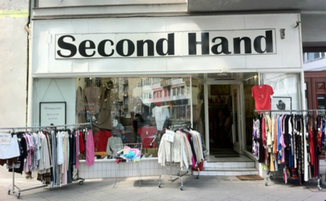 second-hand shops